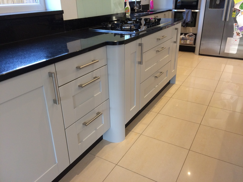 Repainted Maple kitchen in Bramhall
