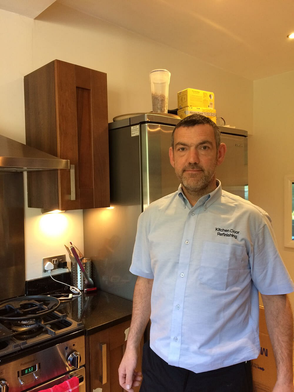 Tim McGovern, Kitchen Door Refinishing, Stockport